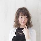似合わせカット+前髪パーマ+カラー