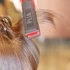 カット+前髪カールストレート