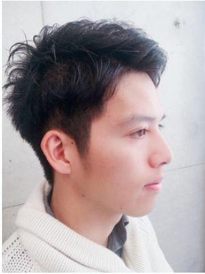 イケメン2ブロックヘア