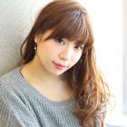 【選べるトリートメント】カラー+前髪カット