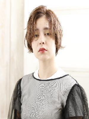 【Aqure】外ハネ☆ショート☆透明感