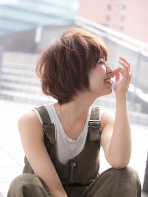 【Euphoria】愛されHAPPY小顔ショート☆ 担当福田