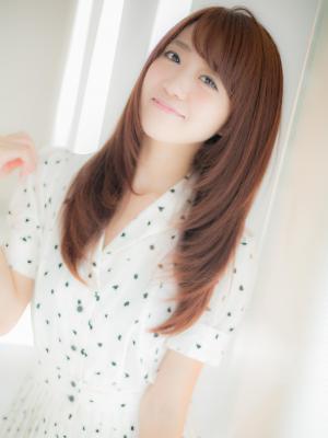 【Euphoria】触りたくなる美髪ストレート小顔ヘア☆