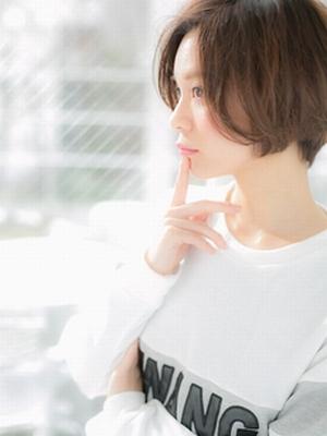 大人可愛いのにセクシー☆小顔ショート