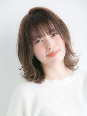 【Euphoria】大人可愛い☆外ハネミディ☆担当  門脇