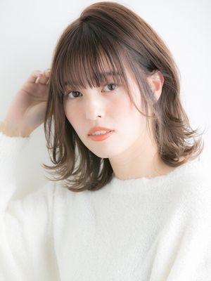 【Euphoria】外ハネ☆ナチュラルミディ