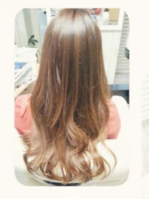 コスメ縮毛矯正とリタッチカラー
