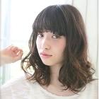 【カール長持ち 】カット ・ デジタルパーマ ・ カラー ・ Tr