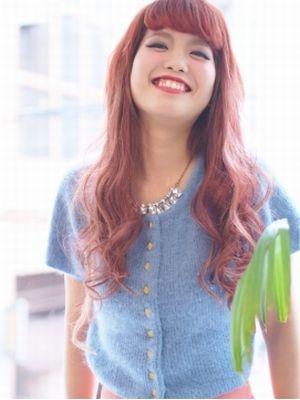 【ROJI】赤髪REDの辛口ヘア!