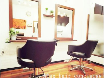 ALex Hair concierge
