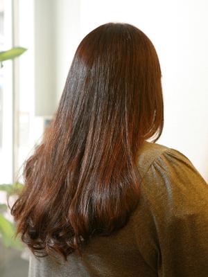 縮毛矯正+デジタルパーマ