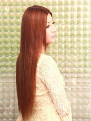 縮毛矯正+ハホニコトリートメント8100円