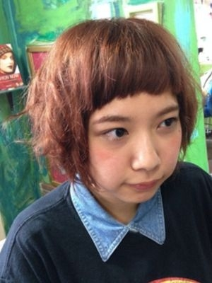 夏はおもいきり前髪パッツンスタイル!