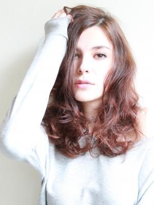 Casually hair