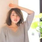 【潤う泡シルクトリートメント配合】カット+カラー(リタッチ)9,300円→7,900円