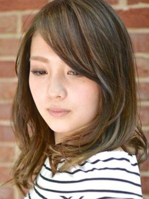 【アメ村 b:Ash】外国人風ツヤカラー☆