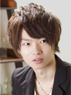 【アメ村b:Ash】メンズショートミディアム☆