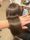 髪質改善矯正+アミノカラー+カット+PLARMIAトリートメント 30,240円⇒23,760円