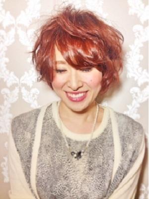 【CAPA下北沢】秋人気☆ドーリィローズカッパーショート
