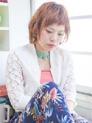 【CAPA下北沢美容室】ショートバング