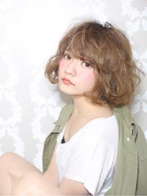 【CAPA下北沢美容室】ドーリィ―ベージュボブ
