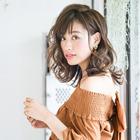 【NO.1 美髪コース】カット+コラーゲンカラー+TOKIO インカラミ Tr 10,800円