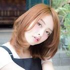 【プリンさん!必見☆】小顔カット+リタッチ(根元)カラー 9,900円⇒7,920円