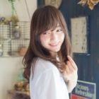 【拡張移転記念☆】 小顔カット+イルミナカラー+ヘアエステ 7,700円