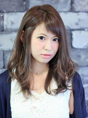 ☆暗髪カジュアルゆるふわセミロング☆