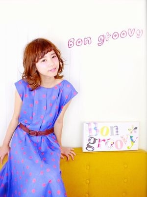hair make + Photo Bon groovy