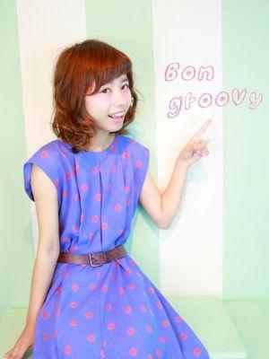 hair make + Photo Bon groovy
