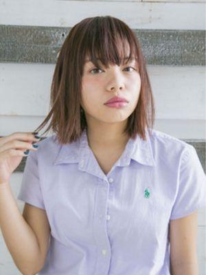 ☆cloe umeda/ブラントカットボブ☆