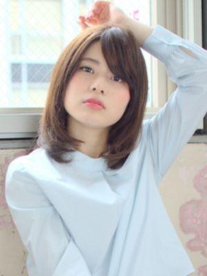 ■MUSEUM■まとまるミディアムヘア♪