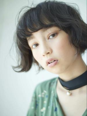 【Flower】外国人風カジュアルパーマ