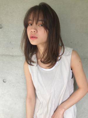 【FlowerByenn】抜け感ミディアムスタイル