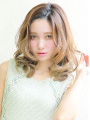 外国人風【メルティベージュ】ミディ