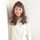 【透明感あるリラックスウェーブ】パーマ+カット+トリートメント