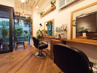 HanaWa ebisu tokyo hair salon