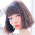 【3回目までOK◎】透明感カラー+カット