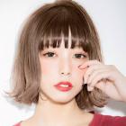 【前髪プラン◎】癖でお悩みの方に♪前髪ストレート&前髪カット