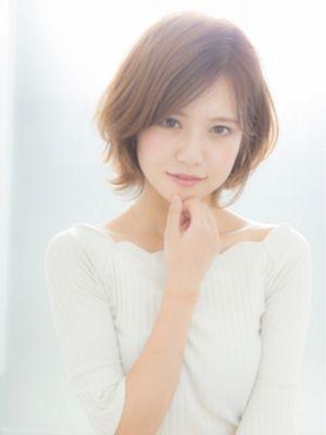 【Euphoria】透明感と柔らかな動き☆愛されモテショート