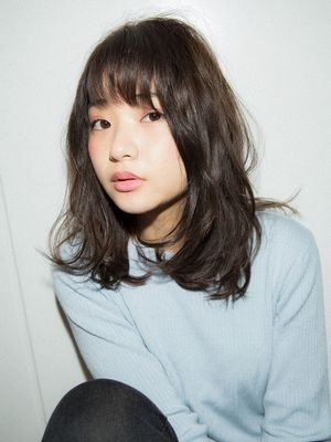 【Euphoria/植原 健太】 黒髪ヘルシーミディ