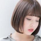 【潤い満たす♪】前髪カット+Aujua4ステップトリートメント