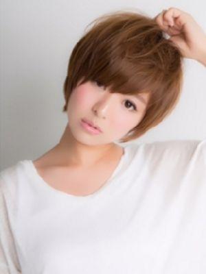 【Euphoria】小顔になれる大人カジュアル×ショートヘア