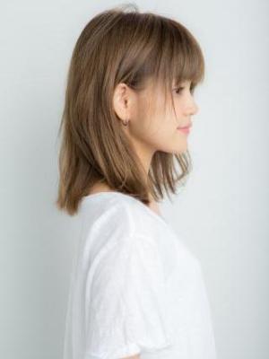 【Euphoria】外ハネがアクセント★きれいめグレージュ