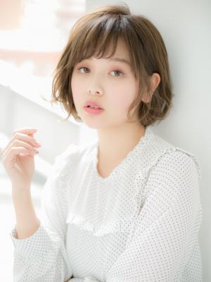 【Euphoria】☆ふんわり☆ヨーロピアンベージュボブ