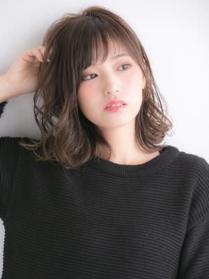 【Euphoria】ナチュラルカール×ミディアムスタイル☆
