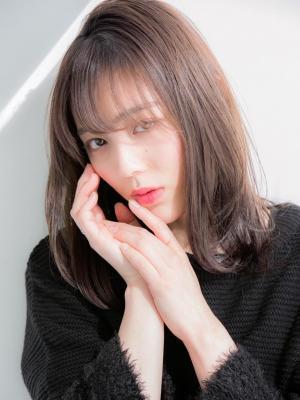 【Euphoria】外ハネミディアム×小顔大人女子☆