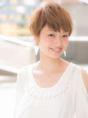 【Euphoria/三田淑絵】大人かわいい、愛されショート☆