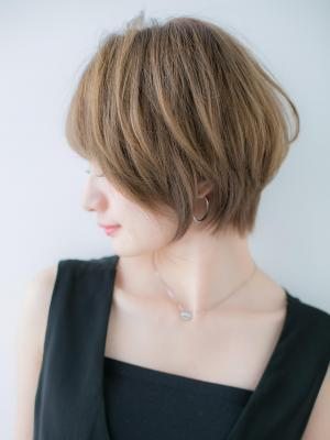 【Euphoria】似合わせカット☆小顔ショートスタイル